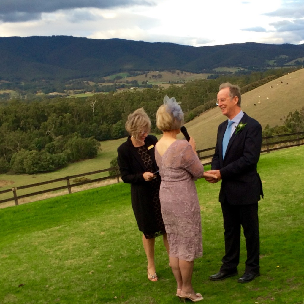 Phil and Sheena, Riverstone Estate, Coldstream, May 2015